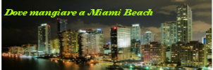 Ristoranti Miami Beach