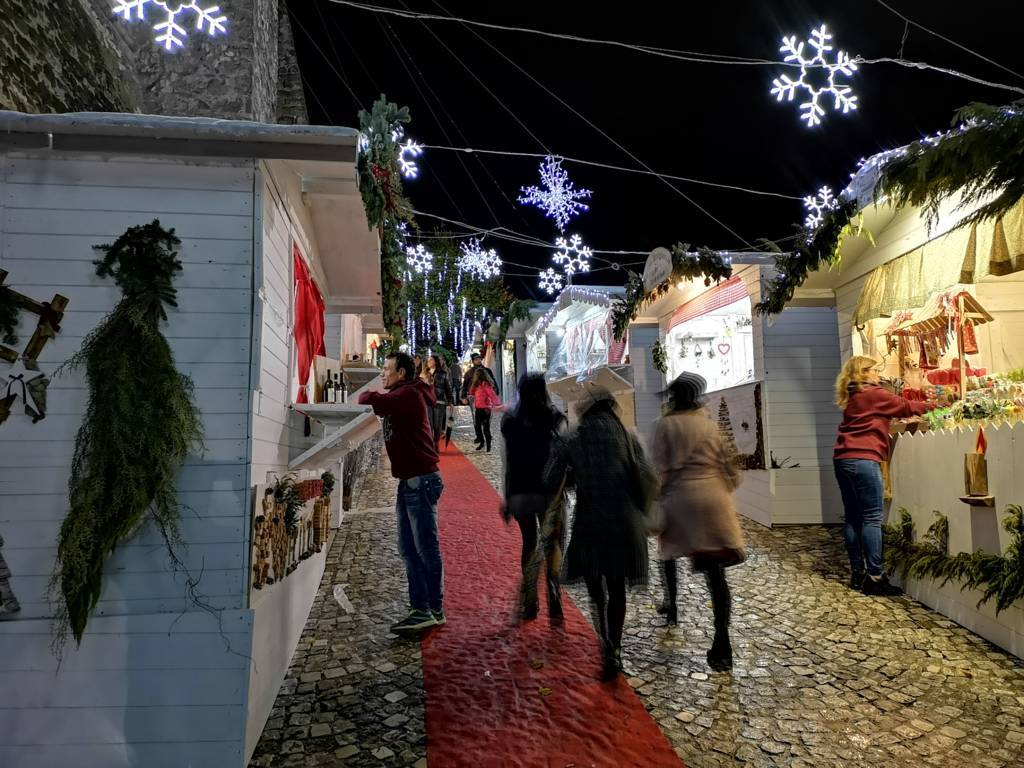 Mercatini di Natale al castello di Limatola 2018