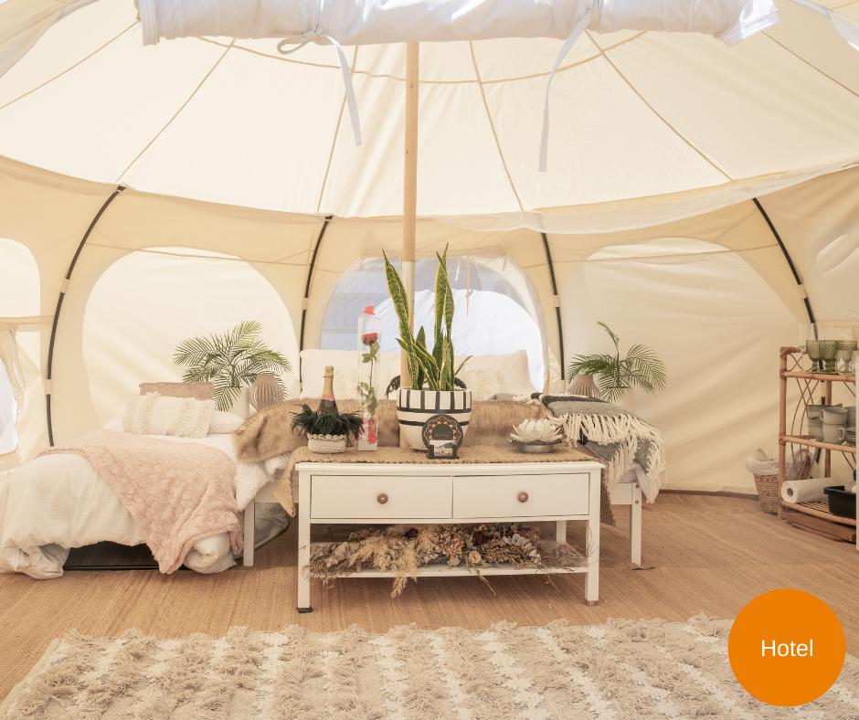 Vacanze in campeggio?